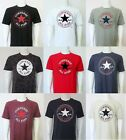 NEW CONVERSE All Star Chuck Taylor Crew Neck T Shirts Sizes S, M, L, XL, XXL