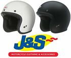 BELL CUSTOM 500 OPEN FACE MOTORCYCLE HELMET MOTORBIKE OPEN-FACE SCOOTER  J&S