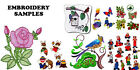 60,000+ EMBROIDERY MACHINE PATTERNS DESIGNS FILES IN .PES .HUS ON DVD - FREE