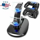 Dual USB Charger LED Station Charging Stand For Sony PS4 SLim PRO Controller