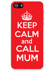KEEP CALM AND CALL MUM MOBILE iPHONE CASE - Novelty iPhone 4/4S, 5/5S, 6/6 Plus
