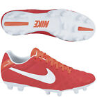 Nike Tiempo Mystic IV FG Soccer SHOES 2011 Brand New Red/ / White / Silver