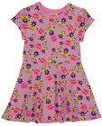 Girls Despicable Me Minions Pink Summer Skater Sun Dress Age 8-9 Years NEW