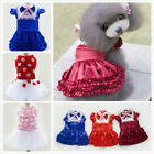 New Luxury Lace Dress Summer Various Pet Puppy Small Dog Cat British Clothes