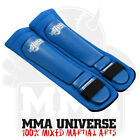 Rogue Leather Competition Pro Series Shin Pads - Blue - [MMA UFC Fight Gear]