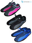 Mens Ladies Boys Girls Kids Wetsuit Aqua Shoes Boots Neoprene Watersports Beach