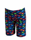 Zoggs Shark Fever Mini Jammer Boys Swim Shorts 2 - 6 yrs 7017150