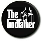 "THE GODFATHER/ 25 mm/ 1 "" BUTTON BADGE (CHRISTENING/GODPARENT ETC:-) FABULOUS!"