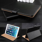 Luxury Genuine Leather Smart Case Flip Stand Cover for Apple iPad 2 3 4 Mini Air