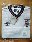 S L XL XXL  ENGLAND UMBRO 1986 HOME SHIRT Jersey soccer football WHITE Mexico