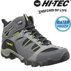 Mens Hi Tec BRYCE Leather Walking Hiking Waterproof Trainers Boots Shoes Size
