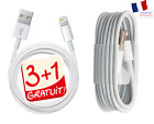 CABLE USB CHARGEUR CHARGER iPHONE X/7/8/ 6/ PLUS/ 5/S/C/ iPAD 4 /iphone 5s, 5