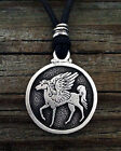 Pegasus Winged Horse Pendant Choice of Color Fine Pewter by Treasure Cast Pewter