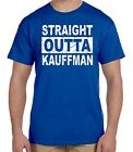 FUNNY STRAIGHT OUTTA KAUFFMAN T-SHIRT KC ROYALS BAD BOYS TEE SHIRT KANSAS CITY
