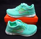 Nike Free run+3 5.0 Mint Green Womens Running Shoes sales