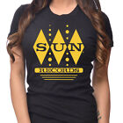 Sun Records Women's Diamonds T-Shirt Rockabilly Country Elvis Cash Retro Music