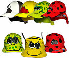 Boys Girls Child's Cotton Animal Summer Legionnaire & Bush Sun Hat Cap