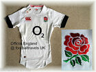 MEDIUM ENGLAND RUGBY TEST SHIRT CANTERBURY jersey TIGHTFIT players HOME Tags