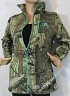 WOMEN'S MOSSY OAK CAMO CAMOUFLAGE INFINITY FLEECE HUNTING CAMP JACKET S-M-L NEW!