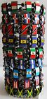 Country Flag Hematite Magnetic Bracelets Stretch Elastic New w Slight Defects
