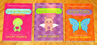 Lot 3 FLOWER POWER Books Lauren Myracle Luv Ya Bunches Violet in Bloom Oopsy L1