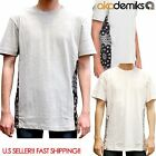 Akademiks Men DRAKE CUT BANDANA T SHIRT Patchwork S/S Tee SHORT SLEEVE S-3XL
