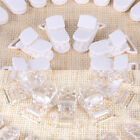 50 X Baby Boy Girl Pacifier Ribbon Dummy Clips Soother KAM Holder Plastic Bulk