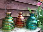 Large Glass Jar Garden Wasp Catcher Hanging Honey Pot Bug Insect Trap 3 Colours