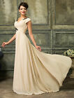 GK New Long Maxi Bridesmaid Formal Prom Gown Masquerade Wedding Graduation Dress