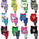 NEW Cotton Sleepwear Pajama Sets for Baby Toddlers Kids Boys Girls / Size 2T-7T