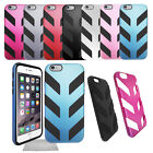 Chevron Hard Phone Case Cover with Rubber Protective Skin For Apple iPhone 6