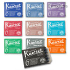 Kaweco Fountain Pen ink cartridges International Std Size  - Choose Colour