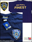 BRAND NEW YORK CITY LICENSED NYPD BLUE T SHIRT POLICE COP DEPARTMENT 'NY FINEST'