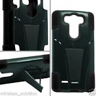 BLACK & BLACK T-Stand Hybrid Case for LG Optimus G3 G 3