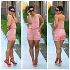 2016 Women Sexy Clubwear V Neck Playsuit Bodycon Party Jumpsuit&Romper Trousers
