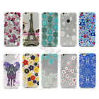 For iPhone Samsung 0.3MM Slim TPU Bling Crystal Gem Soft Silicone Gel Case Cover