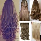Long Women Lady 3/4 Ful Head Clip in Hair extensions Extention 17-30 inches hg55