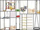 Garden-outdoor toy-swings-rope ladders- toddler swings-net swing- climbing wall