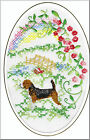Beagle Rainbow Bridge Card Embroidered by Dogmania