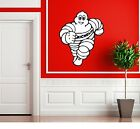 MICHELIN MAN TYRE RETRO GARAGE SIGN STICKER WALL ART CLASSIC OIL VINTAGE CAR