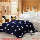 HOT Sale Beautiful Star Soft Lush Warm MINK Blanket Flannel Free Shipping