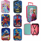 Kids Disney Children Superhero Travel Holiday Trolley Suitcase Wheeled Bag New