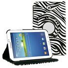 360 Rotating Leather Case Cover for Samsung Galaxy Tab 2 3 4 A E S S2 Note Pro