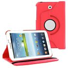 360 PU Case Leather Cover For Samsung Galaxy Tab 2 3 4 Lite A E S S2 Note Pro