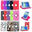 PU Leather 360 Rotating Stand Case Cover for Samsung Galaxy Tab Tablet