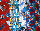 SUPER HEROS #8 Fabrics, Sold Individually, Not As a Group, By The Half Yard