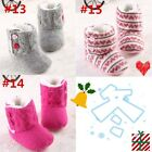 Fashion Infant Baby Girls Boys Warm Cotton Boot Shoes Newborn to 18 Months #FK63