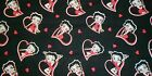 BETTY BOOP #2 Fabrics,  Sold Individually,  Not As a Group,  By The Half Yard