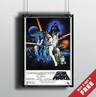 STAR WARS A NEW HOPE Episode IV Poster A3 / A4 Classic Movie Art Print Home Deco £3.99 GBP