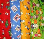 PEANUTS  #6  Fabrics, Sold Individually, Not As a Group, By The Half Yard